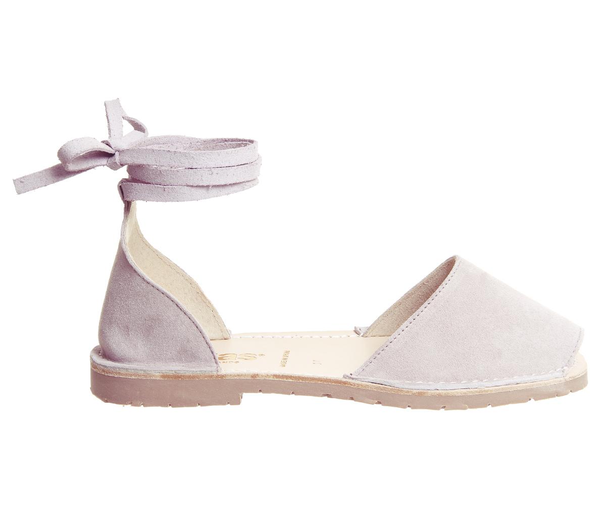 202cd7918c3f Sentinel Womens Solillas Ankle Tie Sandals Windchime Grey Sandals