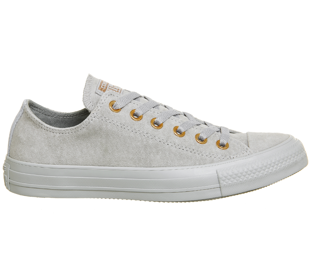 Womens Converse WOLF All Star Low Leather WOLF Converse GREY BLUE CHILL EXCLUSIVE Trainers Sho ca7512