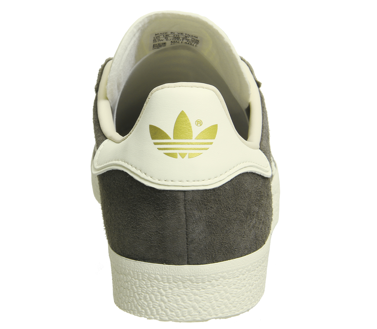 ae6c3748121 Sentinel Womens Adidas Gazelle Trainers BRANCH CREAM WHITE LINEN Trainers  Shoes