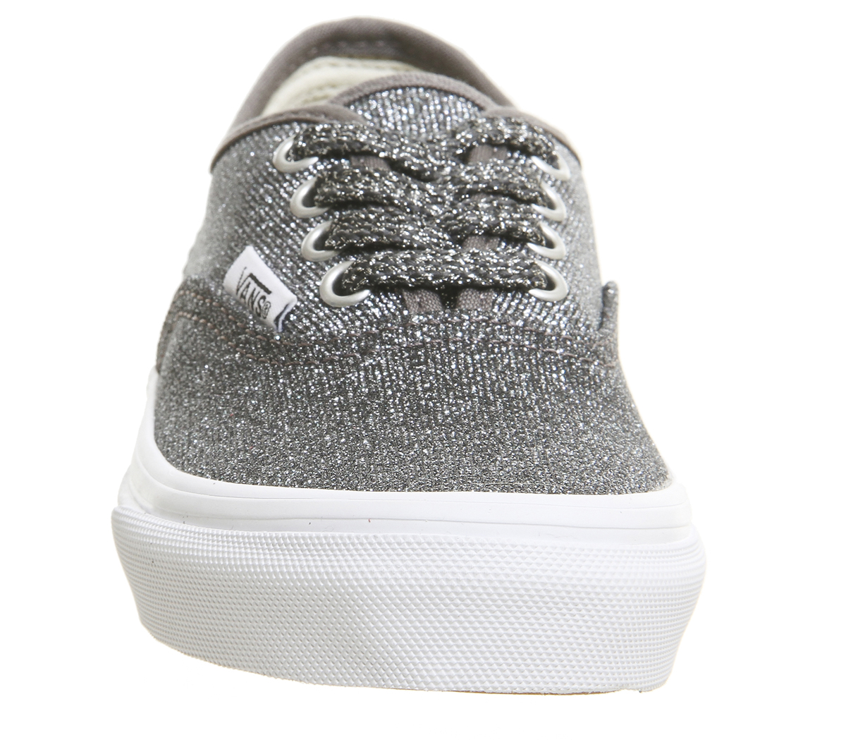 ad3b7dd5c4 Sentinel Kids Vans Authentic Kids Trainers Black True White Glitter Kids