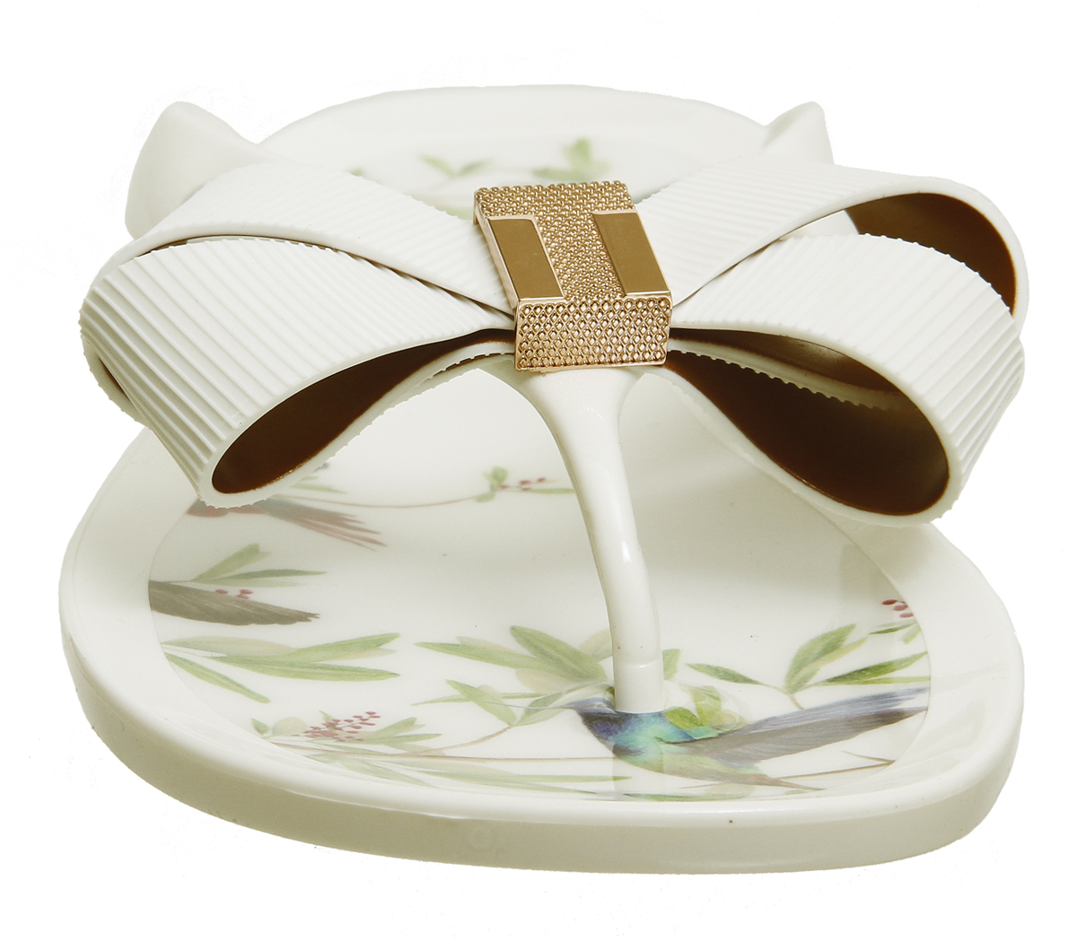 Womens Ted Baker Susziep Flip Flop Sandals HIGHGROVE HUMMINGBIRD ...