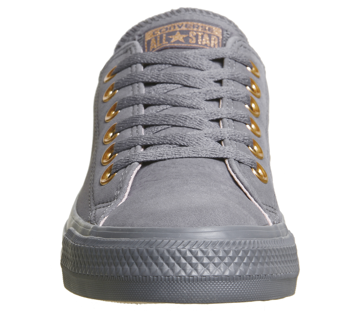 1f5e8c3538b0 Sentinel Womens Converse All Star Low Leather Light Carbon Potpourri  Trainers Shoes