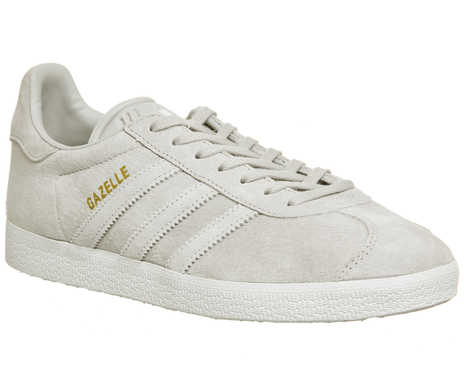 F Grijs Gazelle White Adidas One Womens Trainers Two qH8F0xR