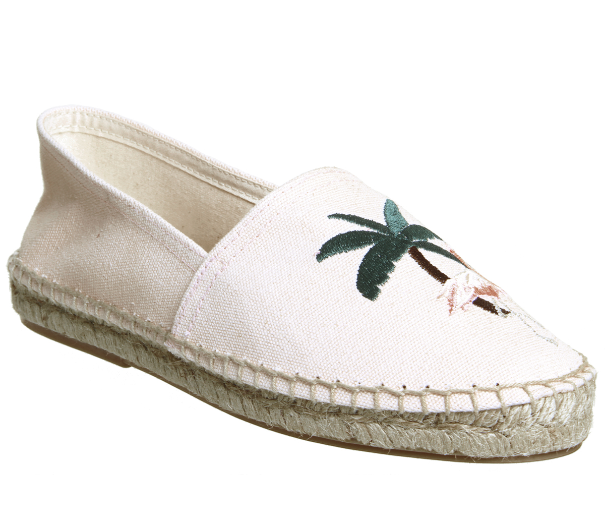 Espadrillas Piatte In Tela Floreale per le donne Made in France Taglia 41 EUUK 8