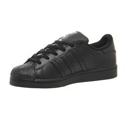 Damenschuhe Adidas Superstar Superstar Adidas BLACK MONO Trainers Schuhes 2ed70b