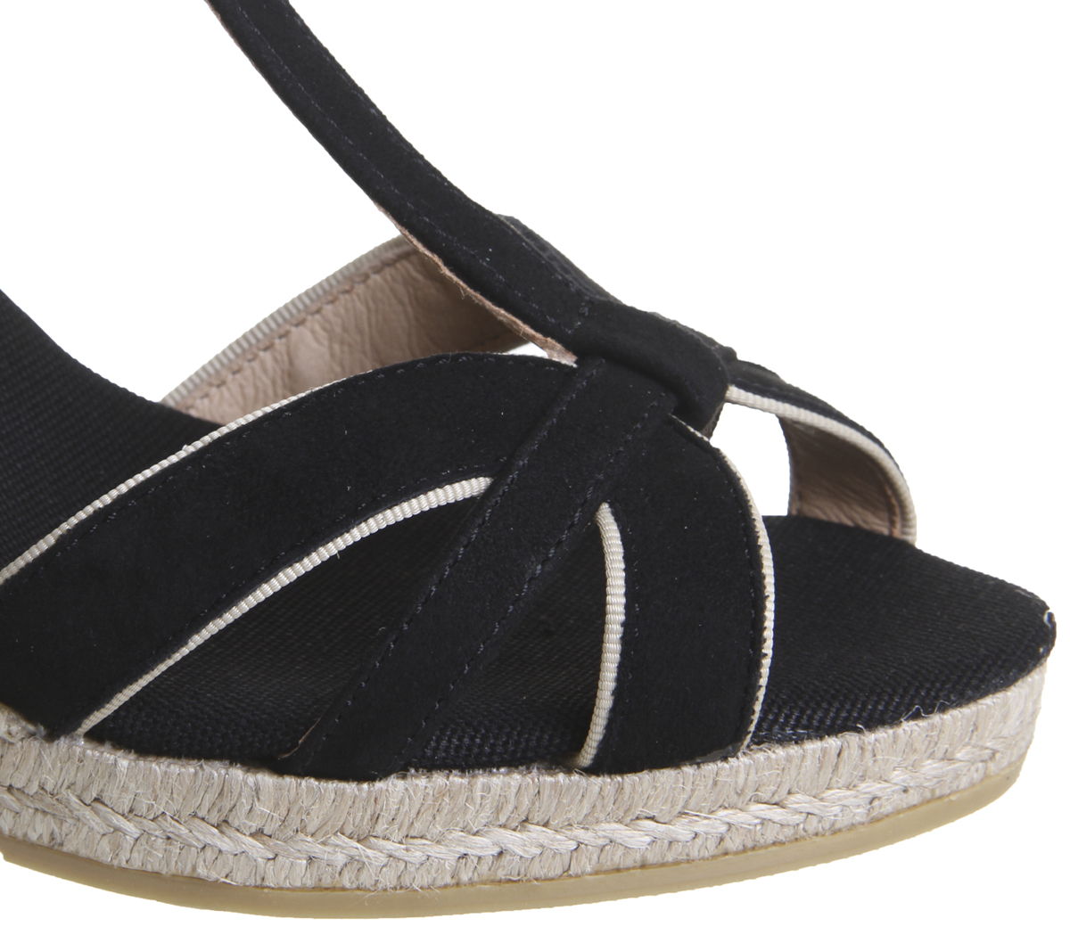 Damenschuhe Kanna Evita Sandale BLACK SUEDE Sandale