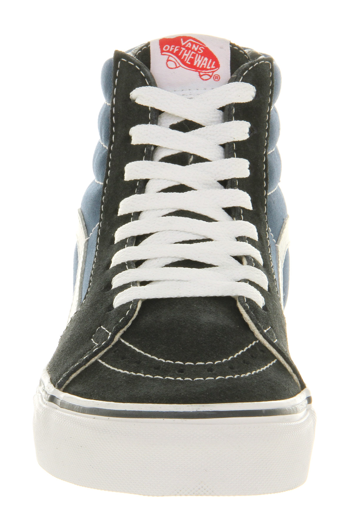 damen vans sk8 hi blau navy sneaker ebay. Black Bedroom Furniture Sets. Home Design Ideas