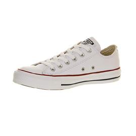 Damenschuhe Converse All Star Low Leder OPTICAL WEISS Trainers Schuhes