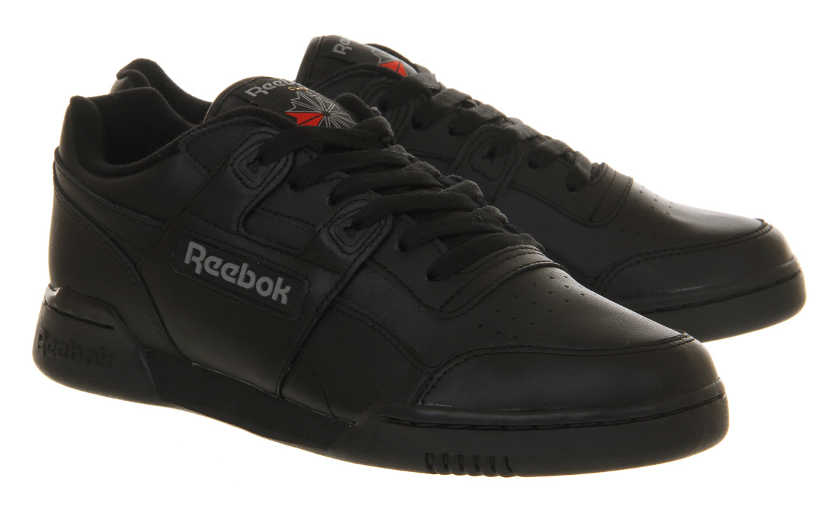 Reebok-Workout-Plus-BLACK-CHARCOAL-Trainers-Shoes