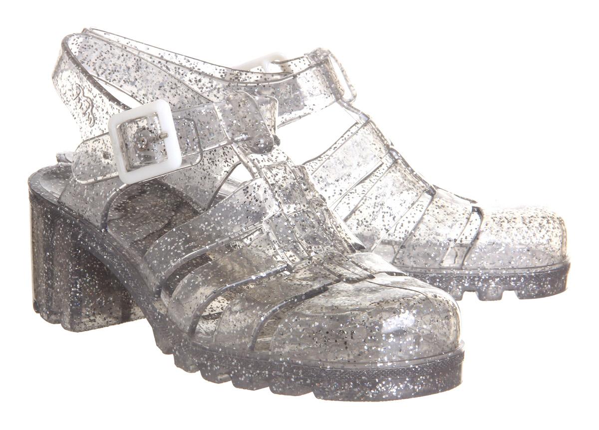ad82c3326d64 Sentinel Womens JuJu Babe Hi Jelly Shoes MULTI GLITTER Sandals