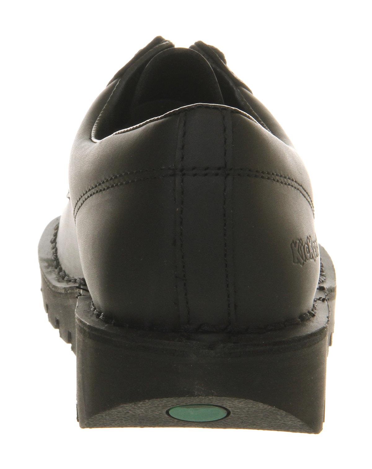 thumbnail 6 - Mens Kickers Kick Lo M Black Leather Formal Shoes