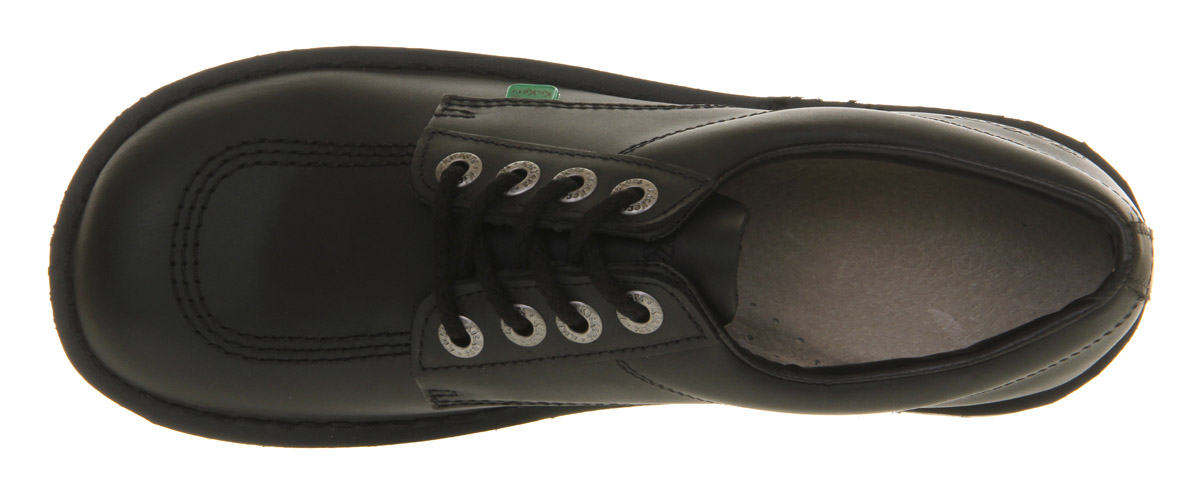 thumbnail 12 - Mens Kickers Kick Lo M Black Leather Formal Shoes