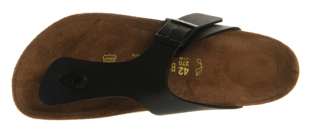 5673349fe1a Mens-Birkenstock-Ramses-Thong-Sandals-Black-Sandals thumbnail 9