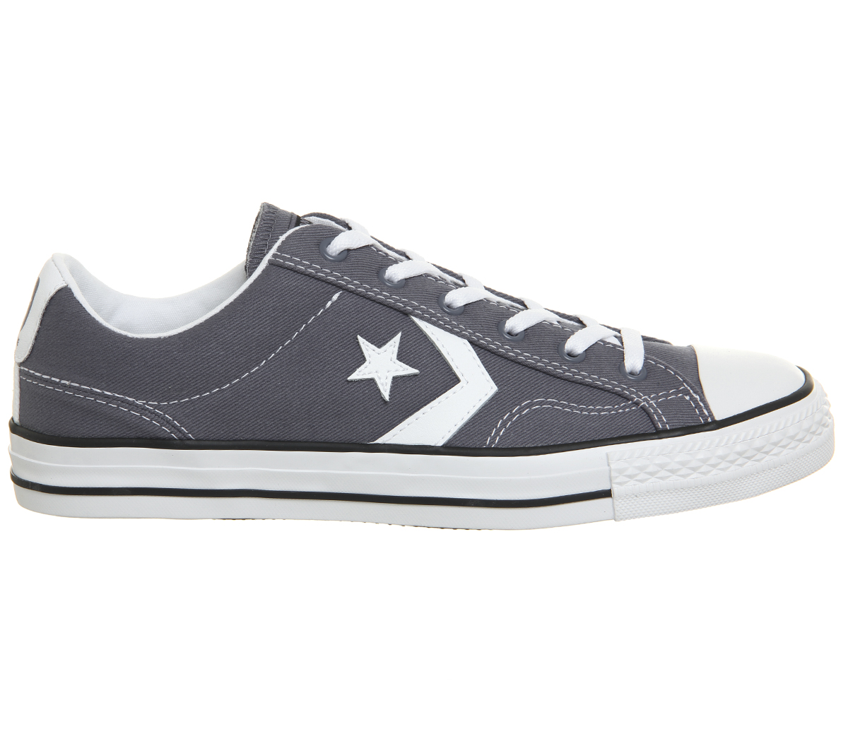 Converse Star Kohlen Spieler Ox Sportschuhe Hell Kohlen Star Weiß Turn Schuhe 6d6388