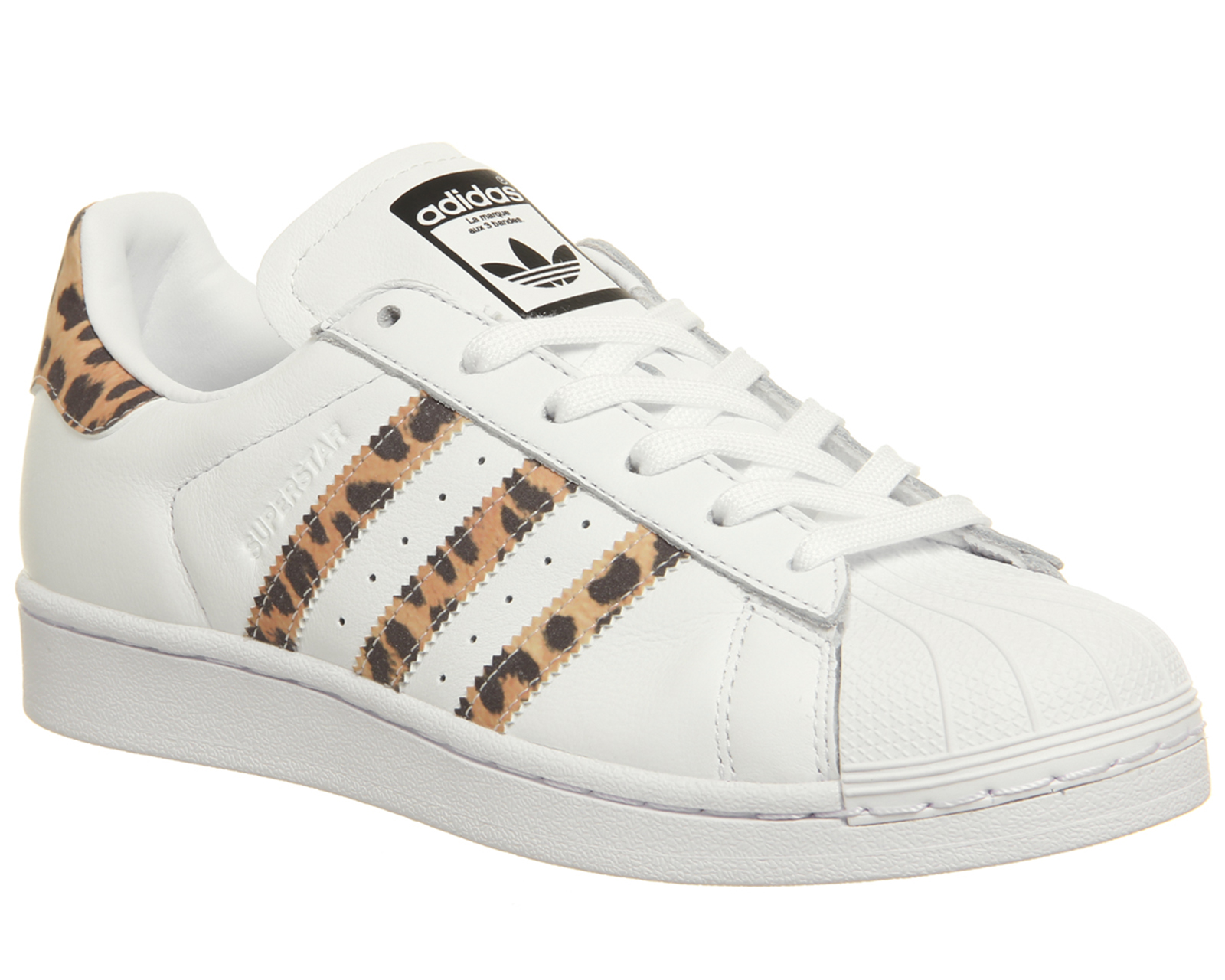 dd6305d9eea30 ... closeout sentinel womens adidas superstar 1 trainers white leopard core  black f trainers shoes a85f4 5775d