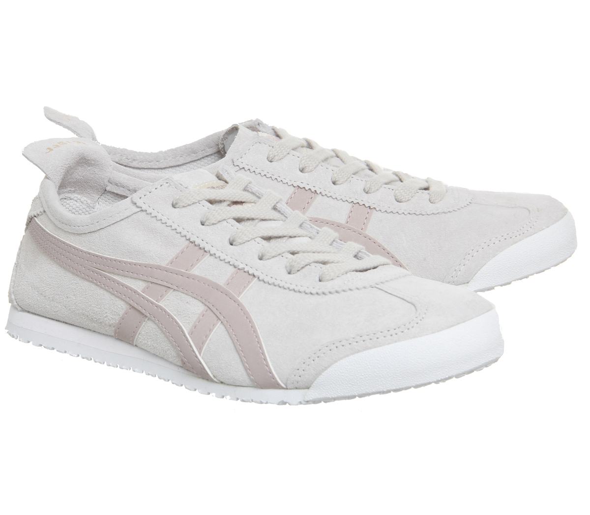 Damenschuhe Onitsuka Tiger Mexico CLOUD 66 Trainers BIRCH CORAL CLOUD Mexico EXCLUSIVE Trainers Sh 3d4521