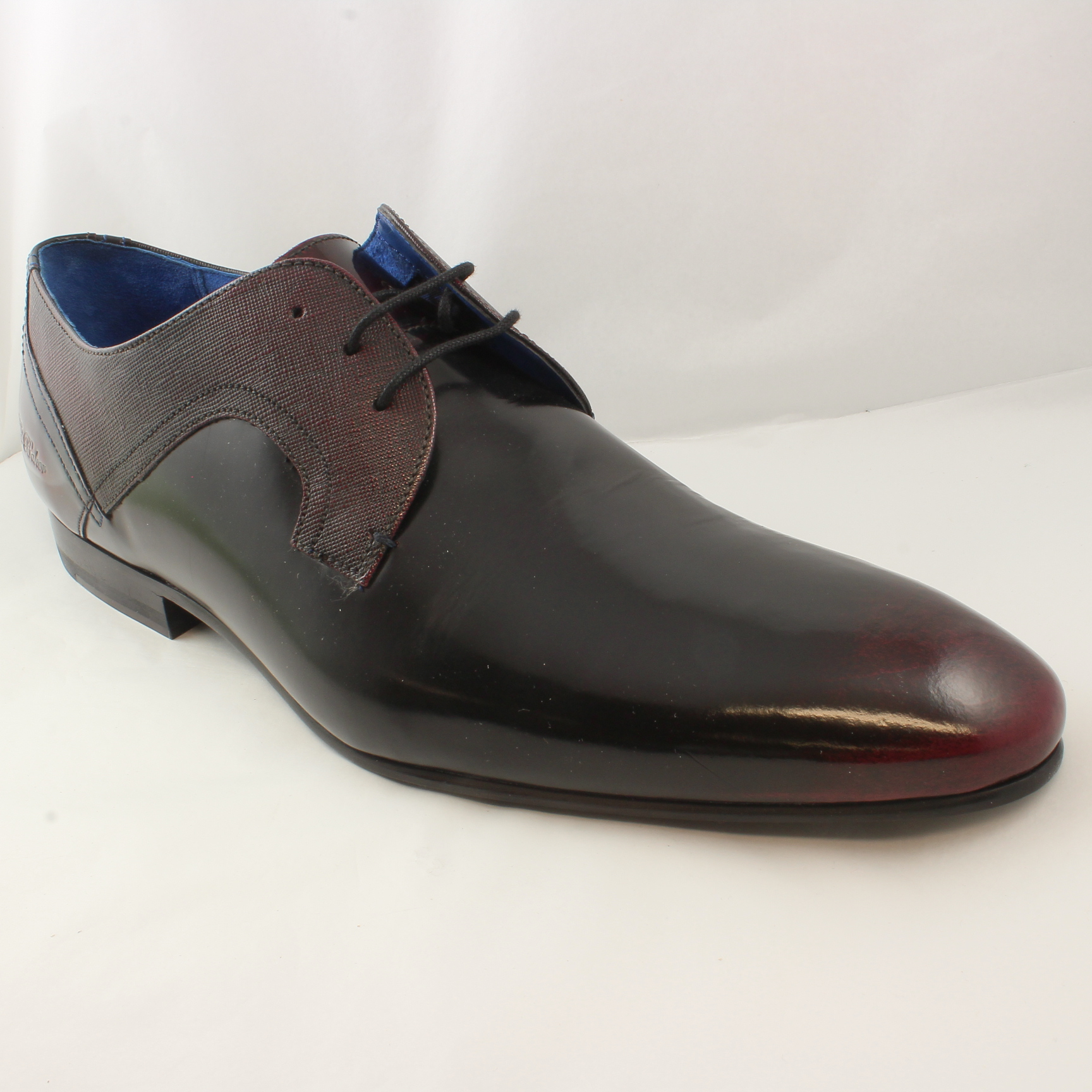 Sentinel Mens Ted Baker Cherry Leather Lace Up Formal Shoes Uk Size 11 *Ex  Display