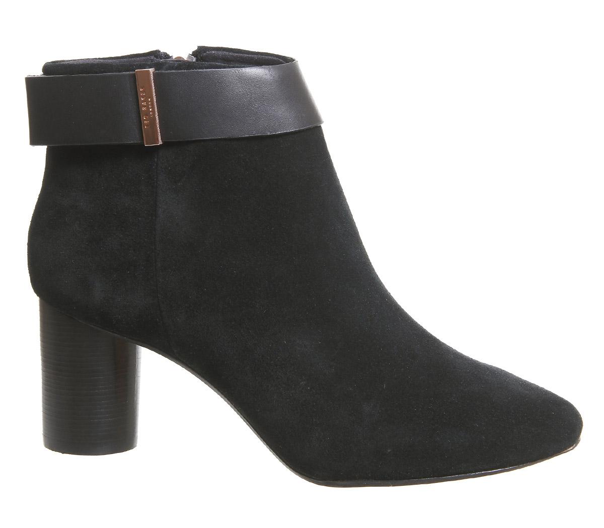 Détails sur Chaussures femme Ted Baker mharia Bottines Bottes Noires afficher le titre d'origine