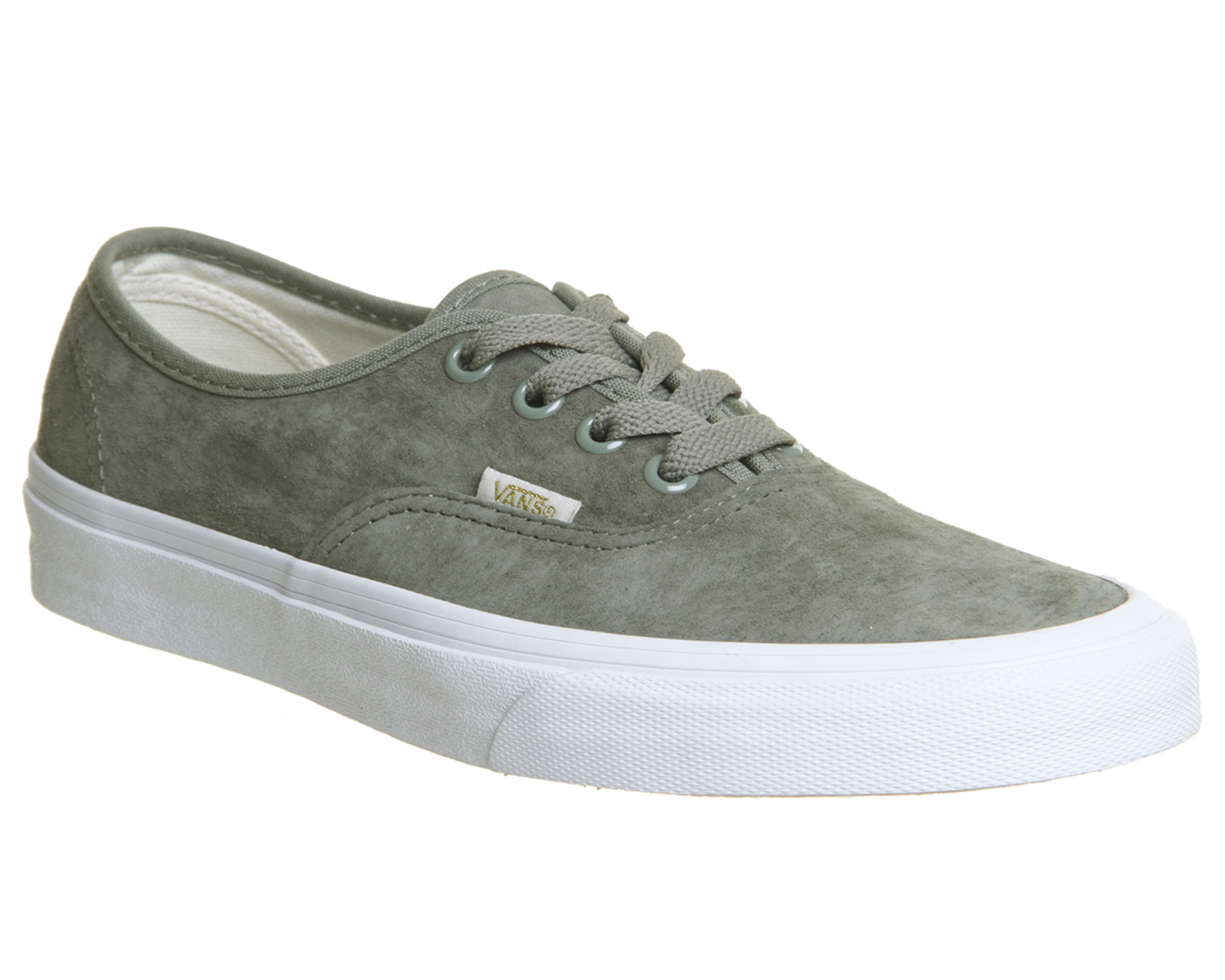 7efd0b9f7ca Sentinel Womens Vans Authentic Trainers Vetiver Eggnog True White Exclusive  Trainers Shoe