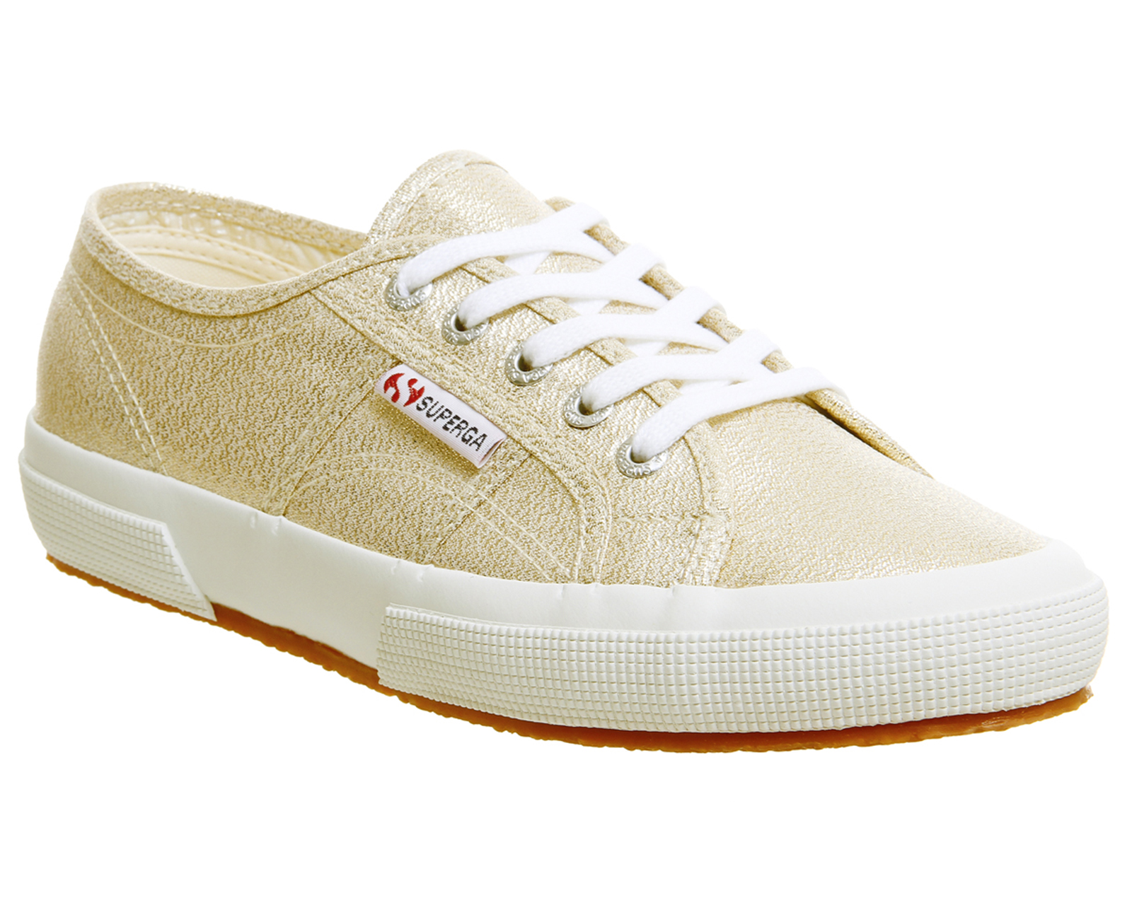 7ababa041fa6b5 Sentinel Womens Superga 2750 Trainers Yellow Gold Trainers Shoes