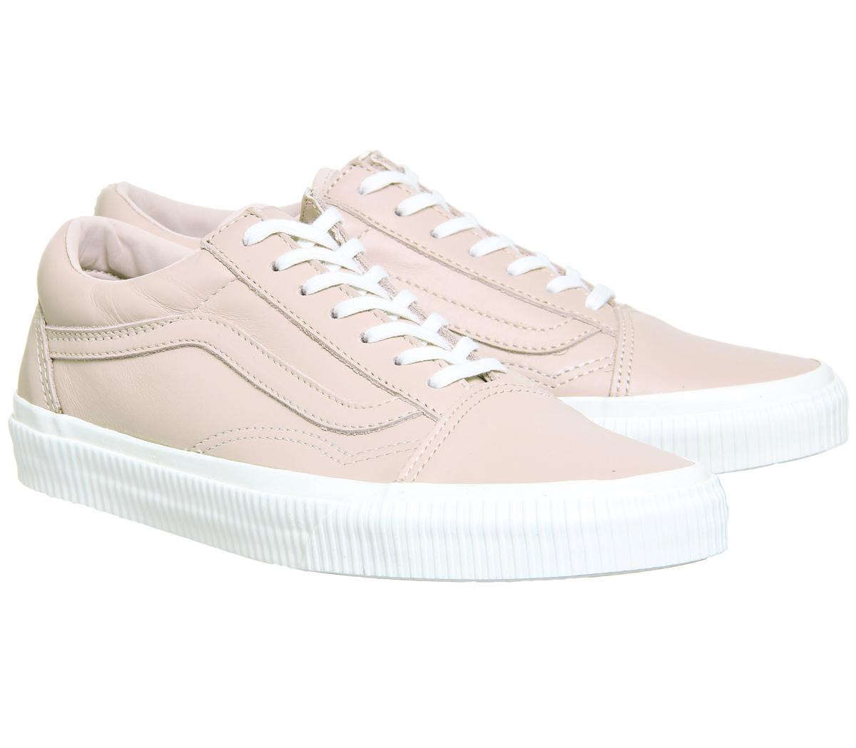 Buy Septa Rose Blanc Embossed Sidewall Vans Old Skool Womens Shoes