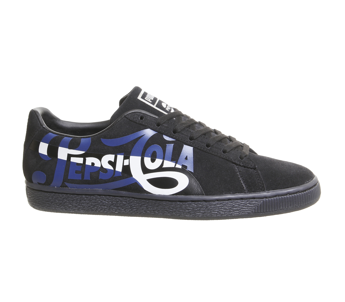 f58a77cf375 Sentinel Mens Puma Suede Classic Trainers Pepsi Port Royal Silver Trainers  Shoes