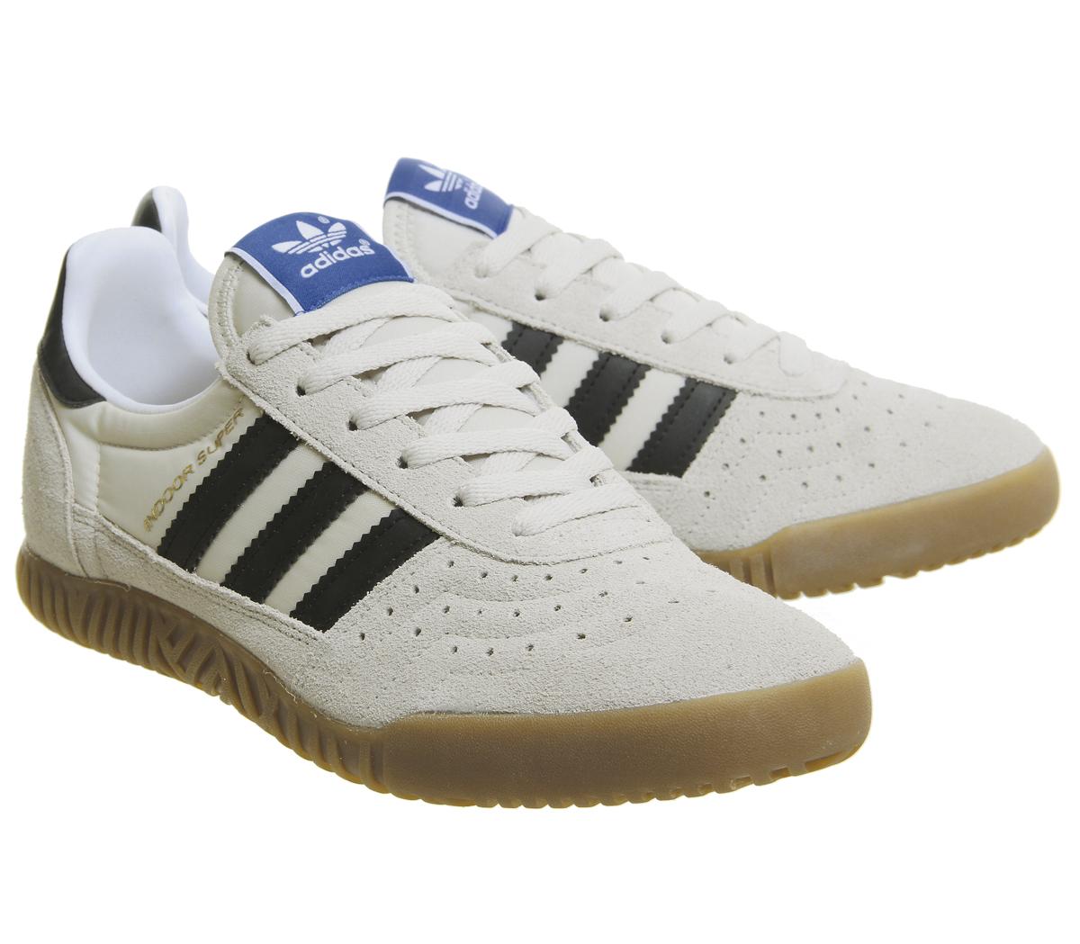 brand new ad7da 43cde ... czech sentinel adidas indoor super formatori chiaro marrone core black  gum formatori scarpe 0006a 24876