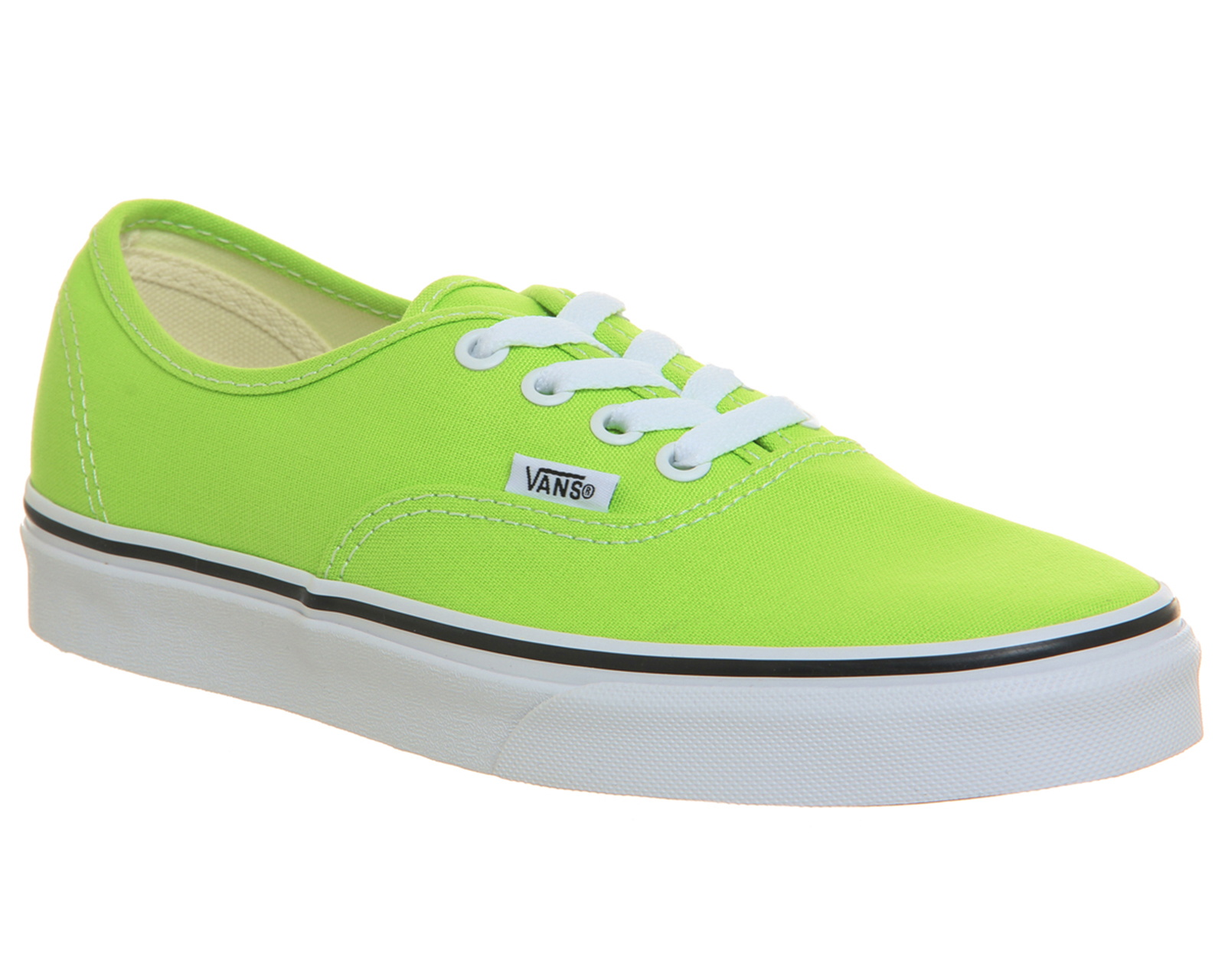 Sentinel Womens Vans Authentic Trainers Jasmine Green Trainers Shoes 8a88975a2a4d