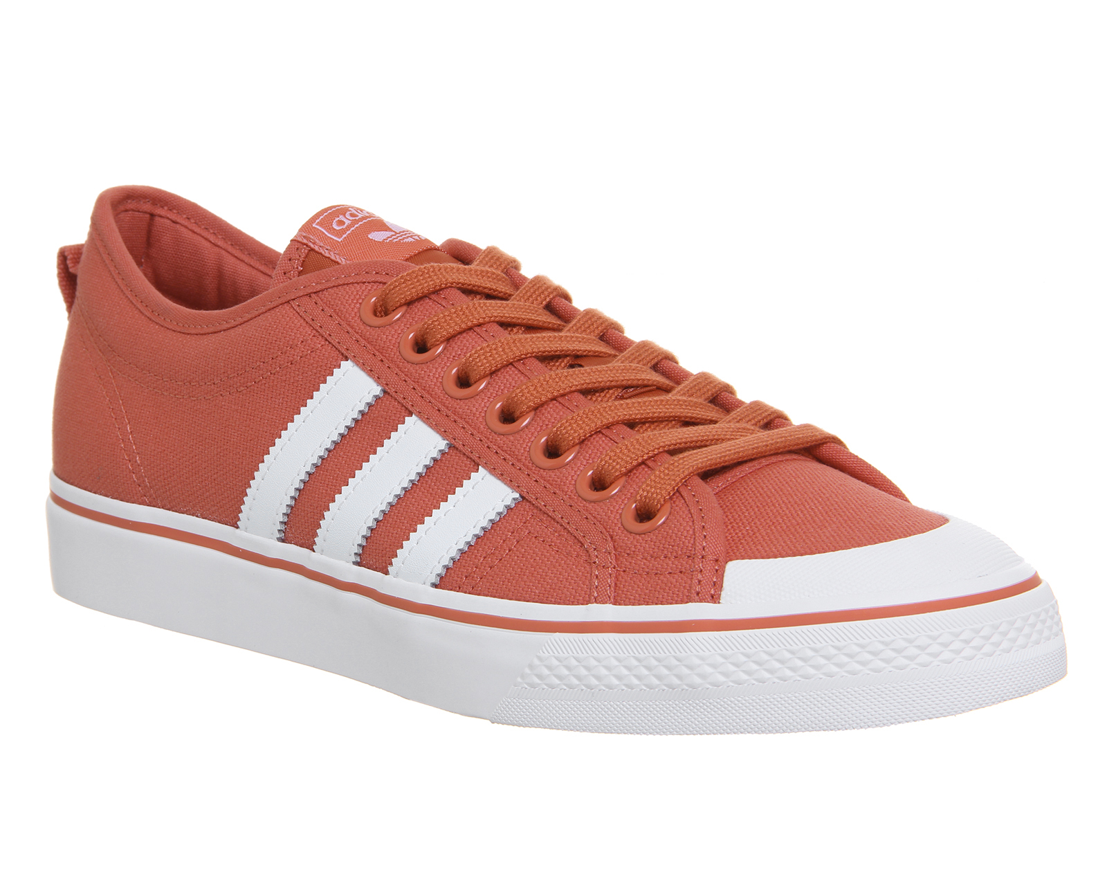 c418ee0db36 Sentinel Adidas Nizza Trainers Trace Scarlet Trainers Shoes