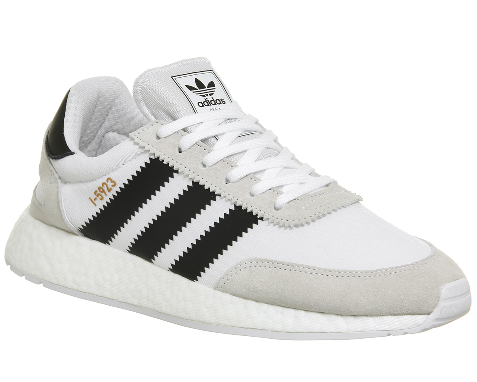 94516d9cf Sentinel Mens Adidas I-5923 Trainers WHITE CORE BLACK COPPER Trainers Shoes