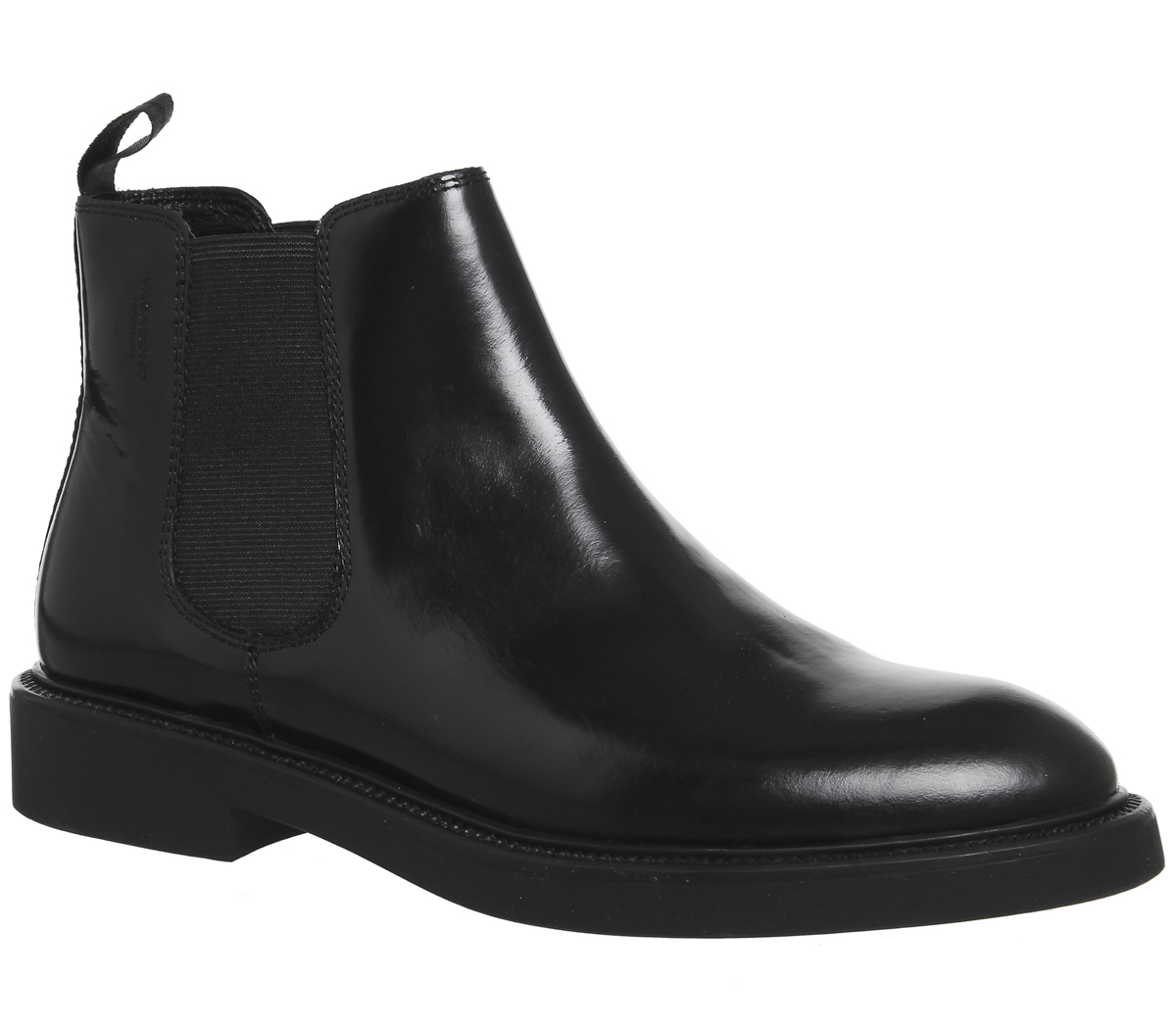 bb8f1d66282 Sentinel Womens Vagabond Alex Chelsea Boots BLACK POLISHED Boots