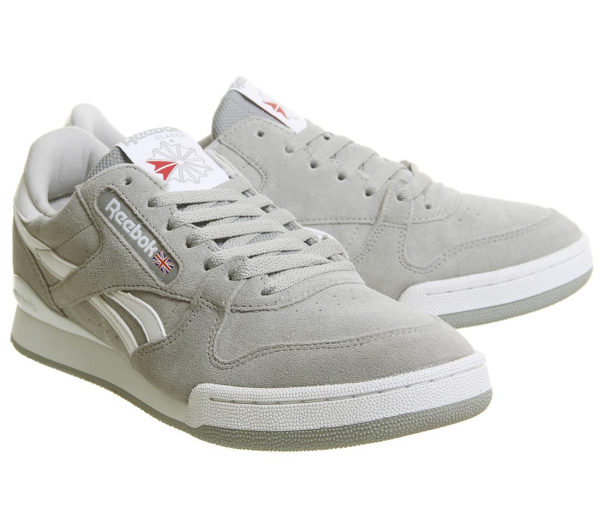Reebok Shoes Tin 1 Phase White Ebay Trainers Grey Pro HwHFrC1q