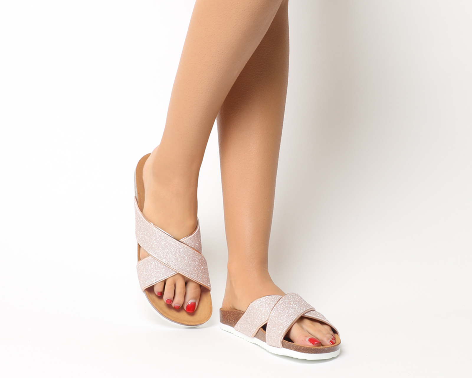 Womens Office Hoxton 2 Sandals White Sandals