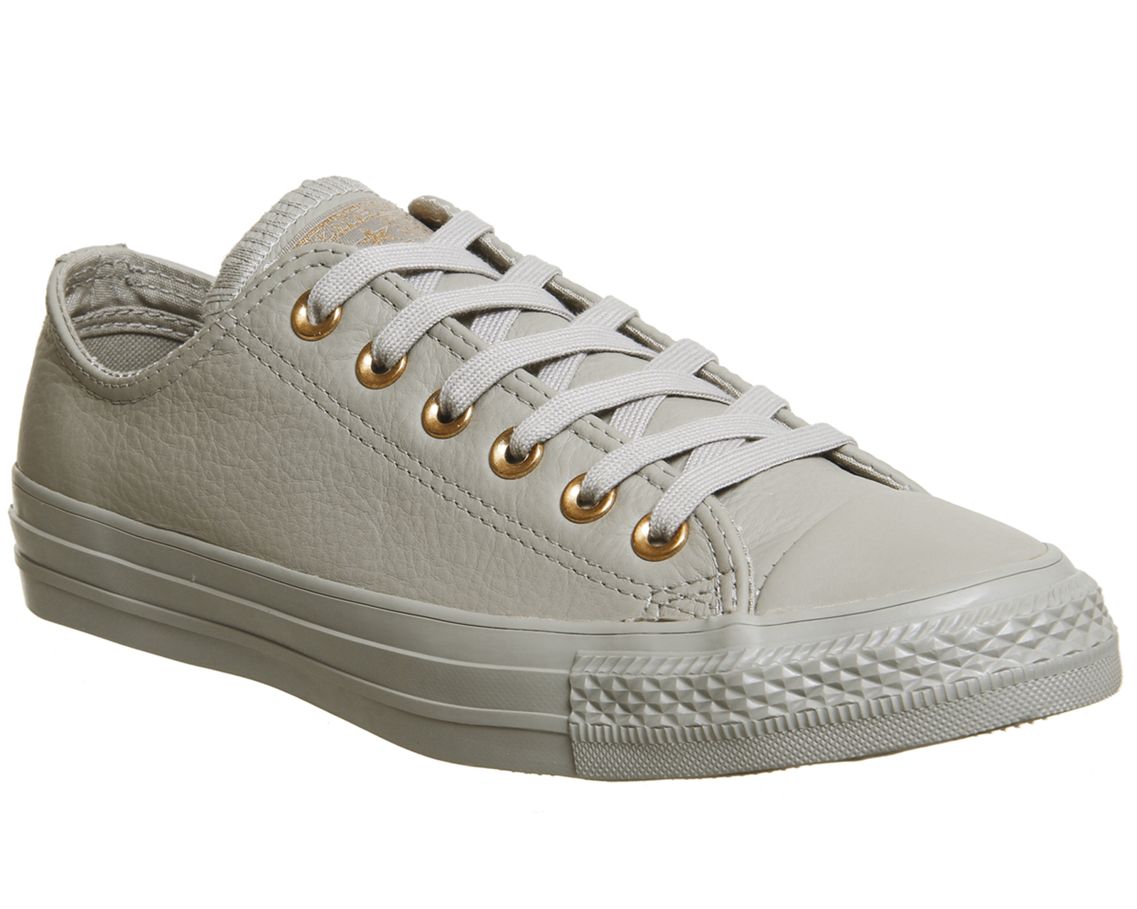 94fcea8221a9 Sentinel Womens Converse All star Low Leather Trainers MALTED ROSE GOLD  EXCLUSIVE Trainer