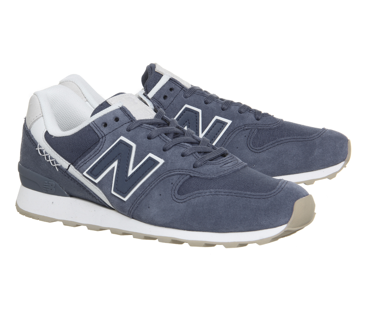 e7e46d758dbdb Womens New Balance 996 Trainers Vintage Indigo Trainers Shoes | eBay