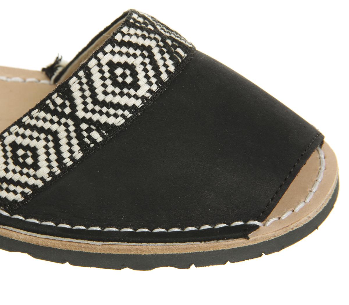 c5115e54e875 Womens Solillas Solillas Wrap Tie Sandals Black White Sandals