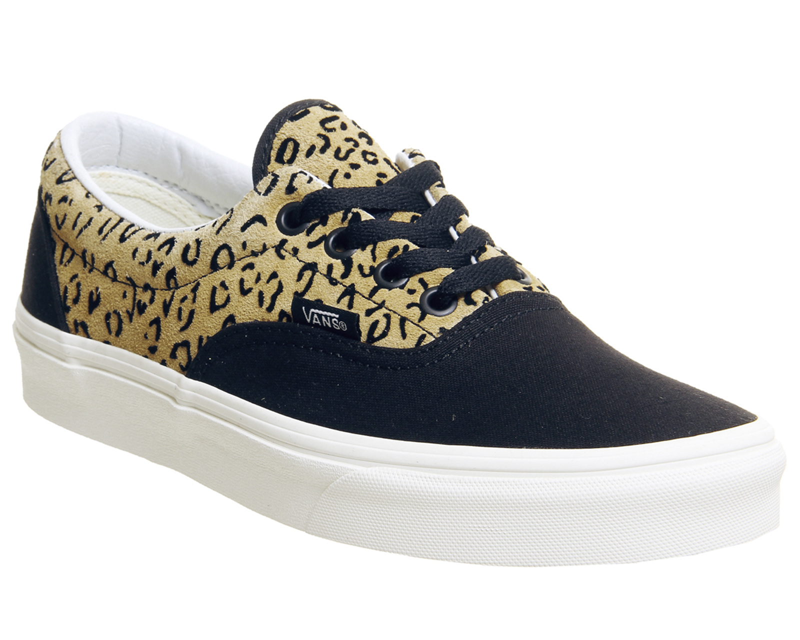 72a2c448f5 Sentinel Mens Vans Era Trainers Leopard Black Taffy Marshmellow Exclusive Trainers  Shoes
