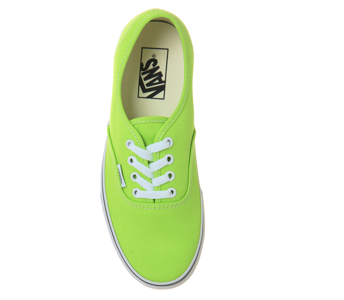 d71bafb5b444 Sentinel Womens Vans Authentic Trainers Jasmine Green Trainers Shoes
