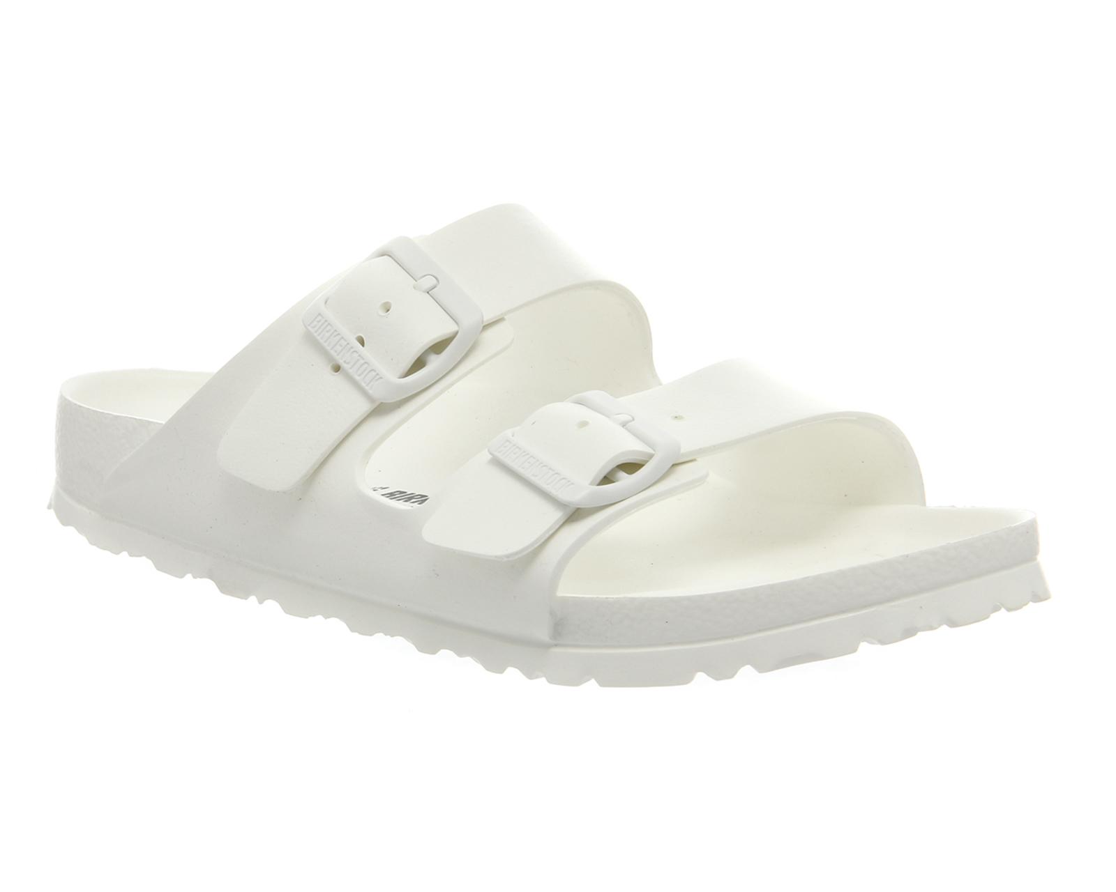 Birkenstock Madrid EVA Slim White, Schuhe, Sandalen & Hausschuhe, Sandalen, Weiß, Female, 36