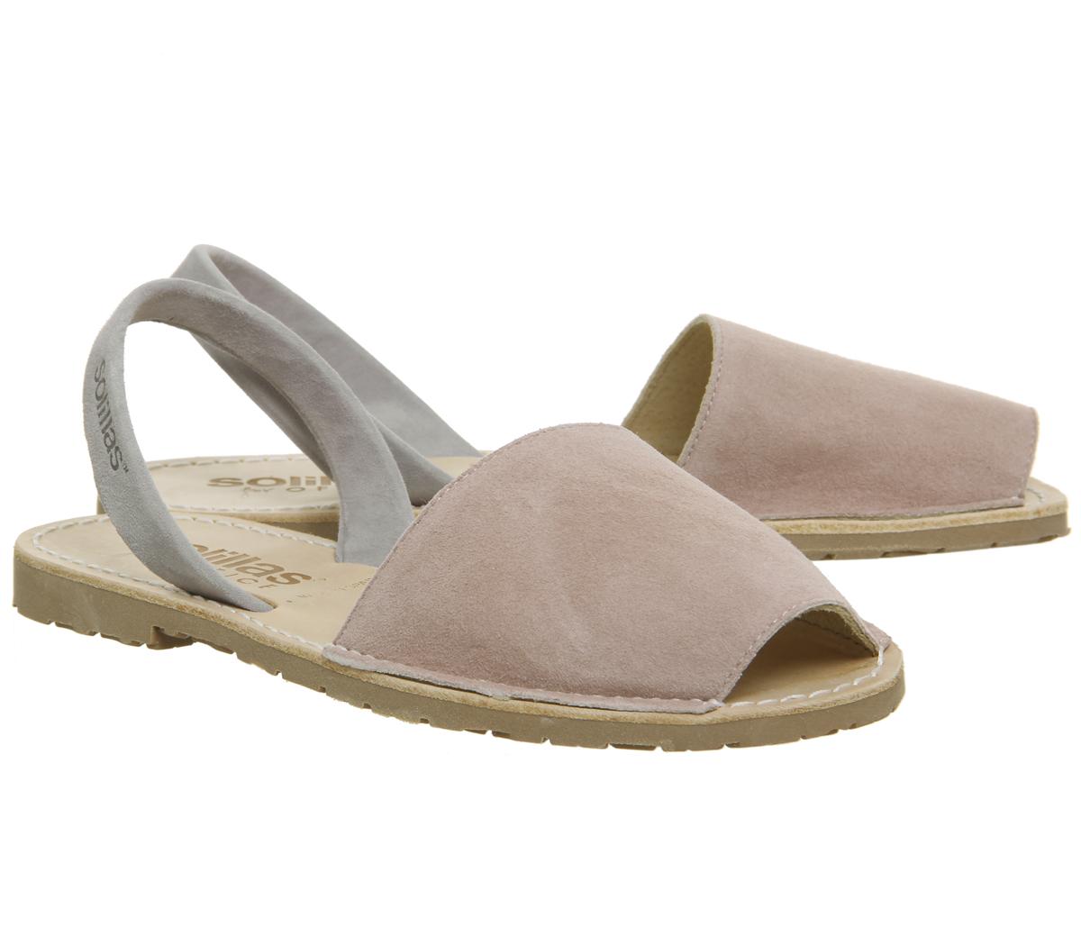 4217e04d582a Womens-Solillas-Solillas-Sandal-Pink-Grey-Sandals thumbnail 13