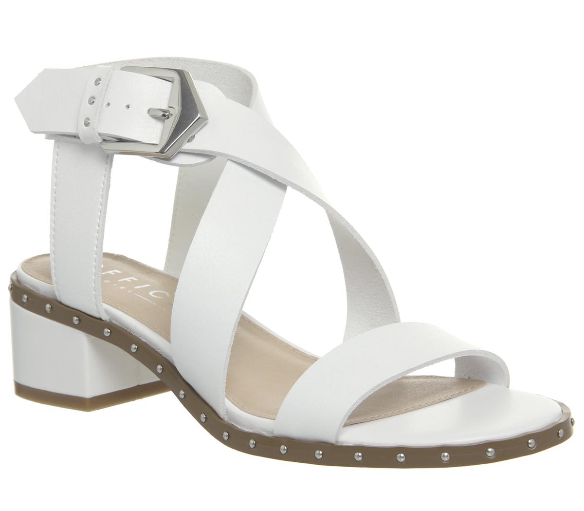 Damenschuhe WEISS Office Marble Strappy Sandales WEISS Damenschuhe Heels 48f626