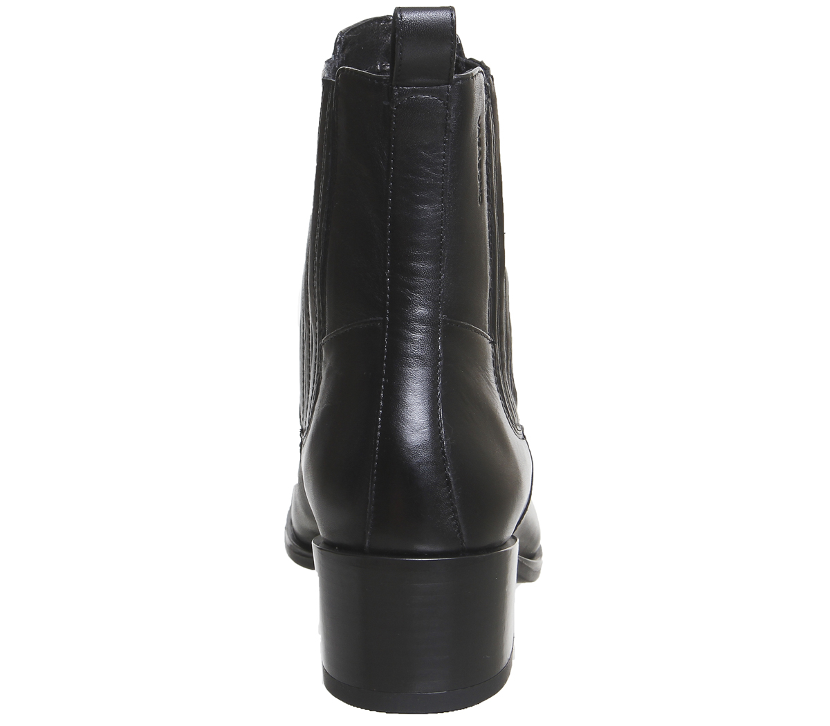 Womens-Vagabond-Marja-Chelsea-Boots-Black-Leather-Boots thumbnail 9