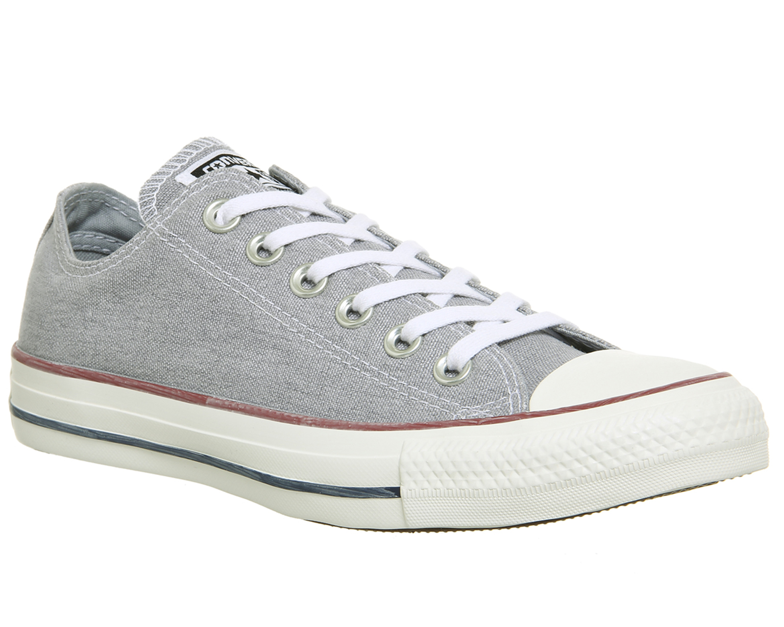 a761b7905dc0 Sentinel Converse Converse All Star Low Trainers WOLF GREY WHITE Trainers  Shoes