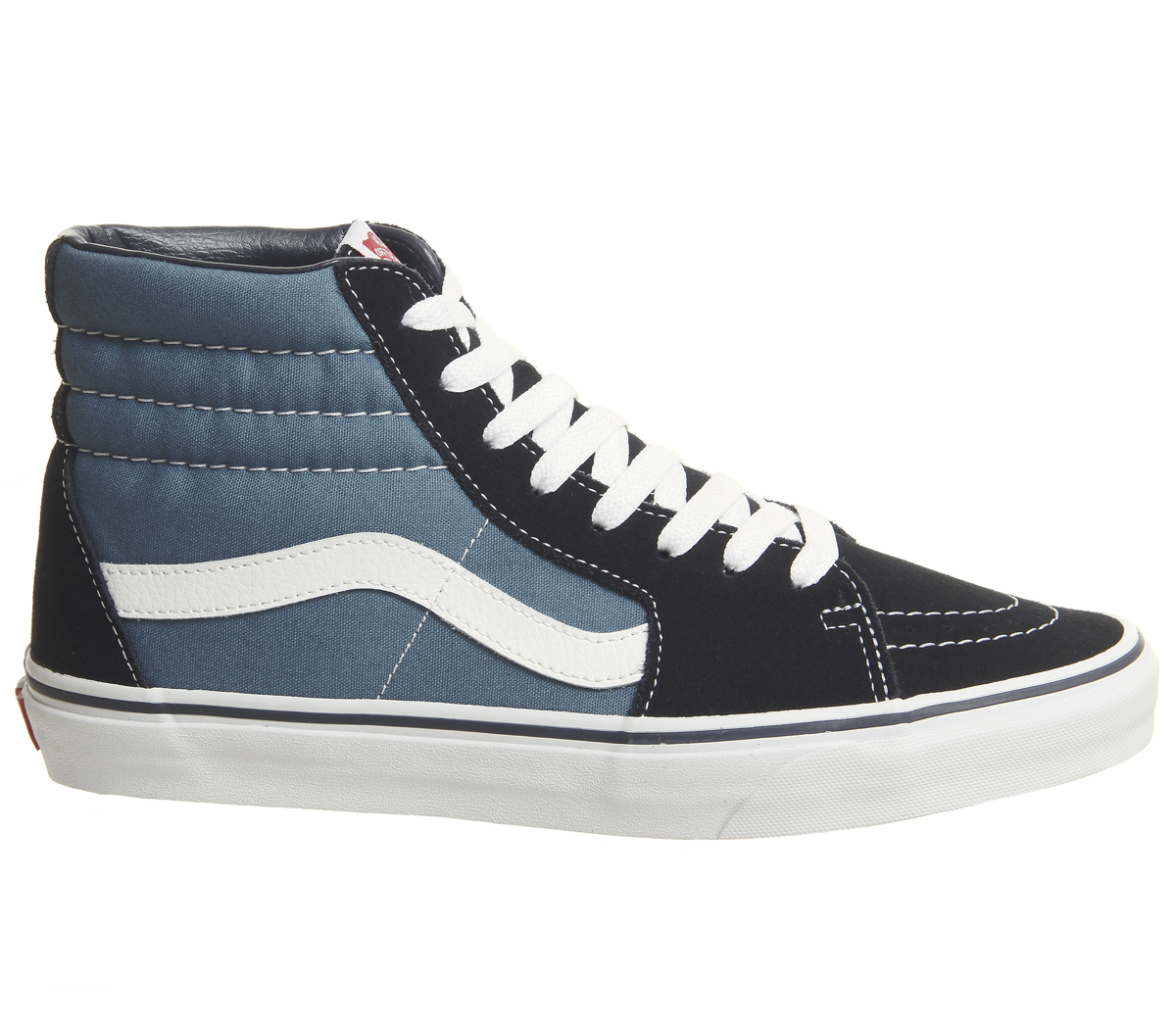 67b07c0f8d20 SENTINEL Womens Vans Sk8 Hi NAVY formatori scarpe
