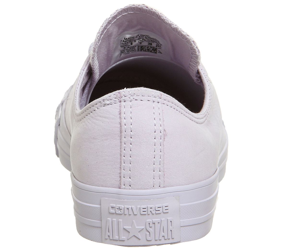 587b405b4663 Womens Converse All Star Low Leather BARELY FUCHSIA ROSE GOLD EXCLUSIVE  Trainers