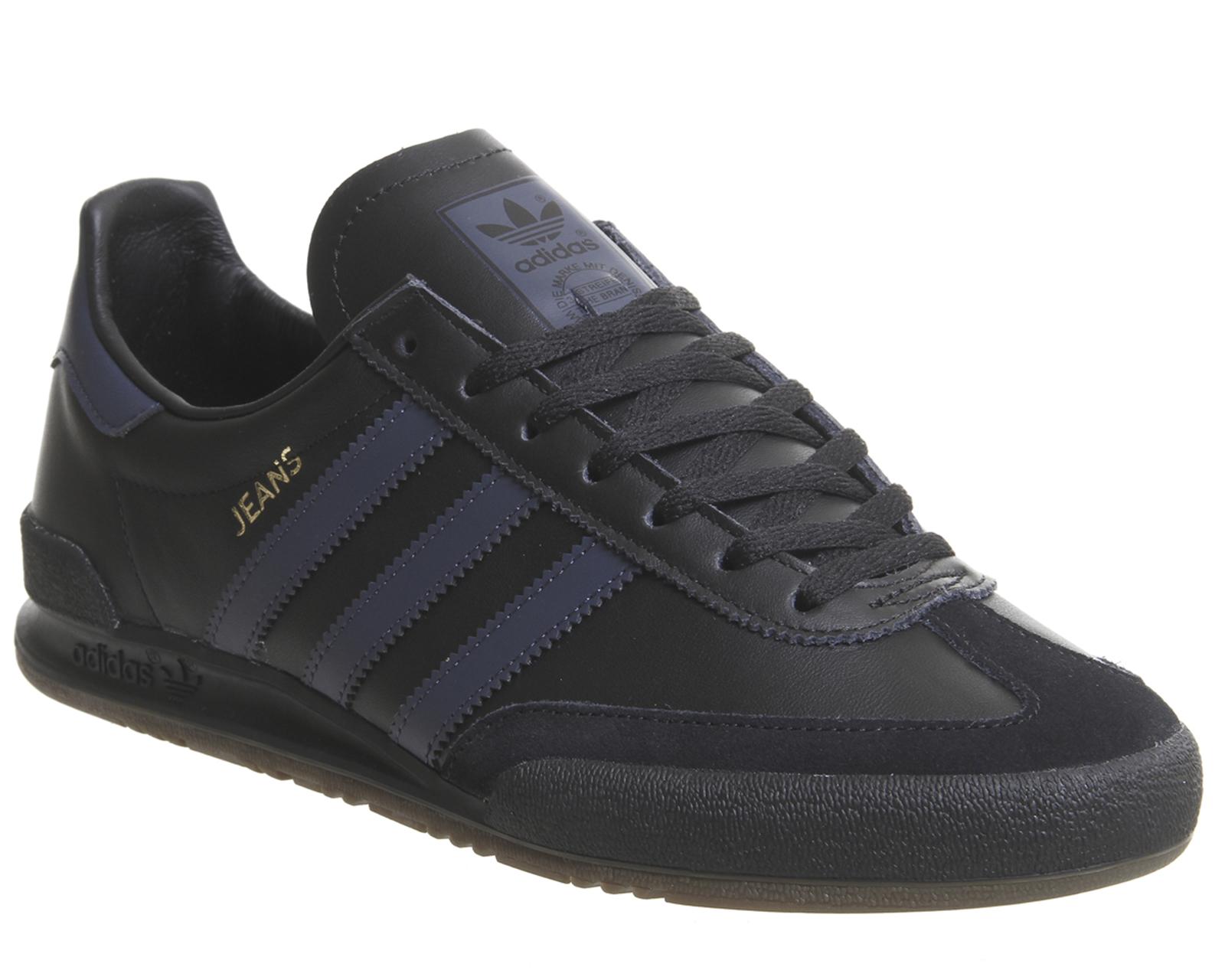 Adidas Jeans Baskets Core Noir trace Bleu