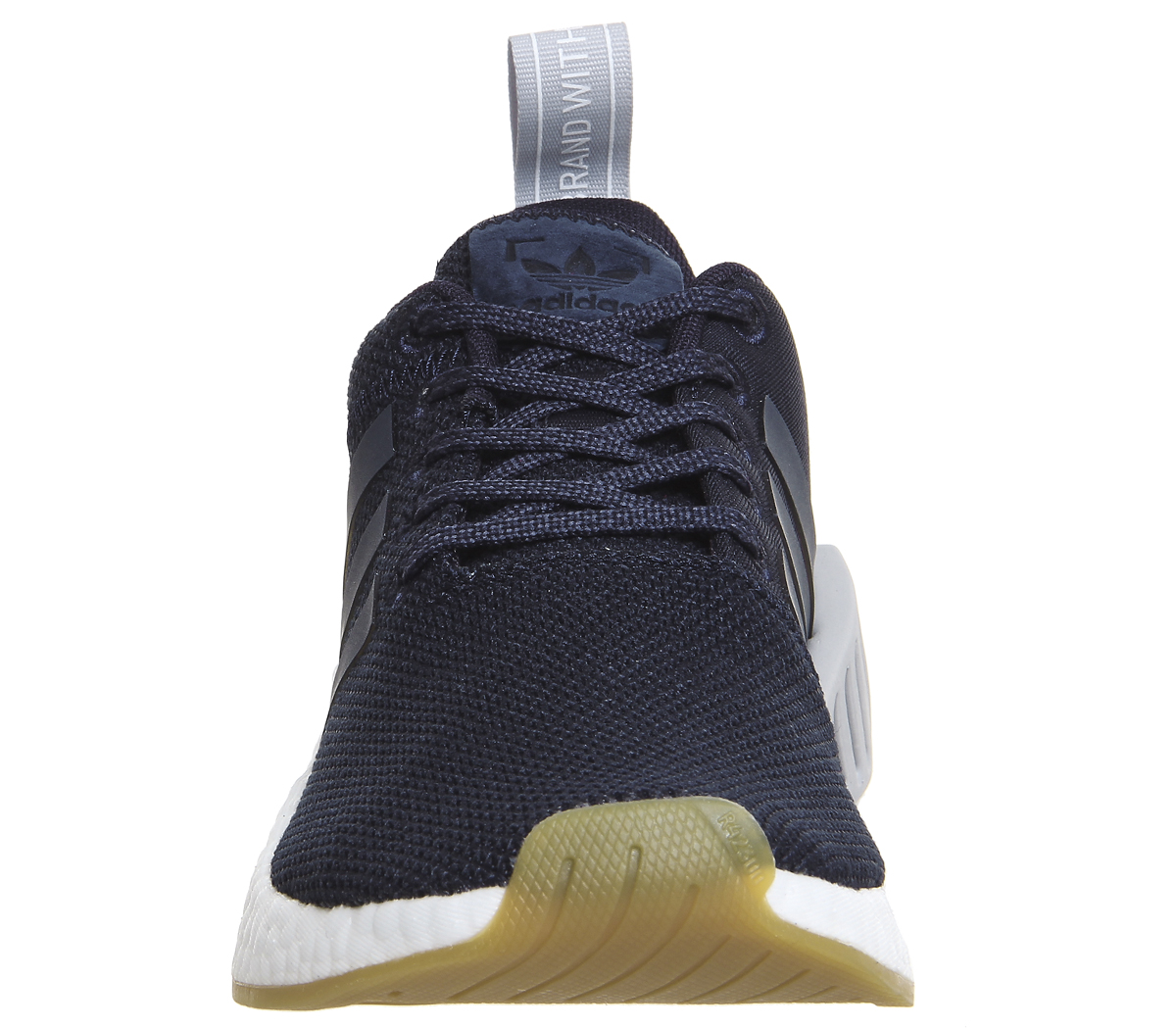 4c09354f1a140 Womens Adidas Nmd R2 Trainers LEGEND INK GREY TWO Trainers Shoes