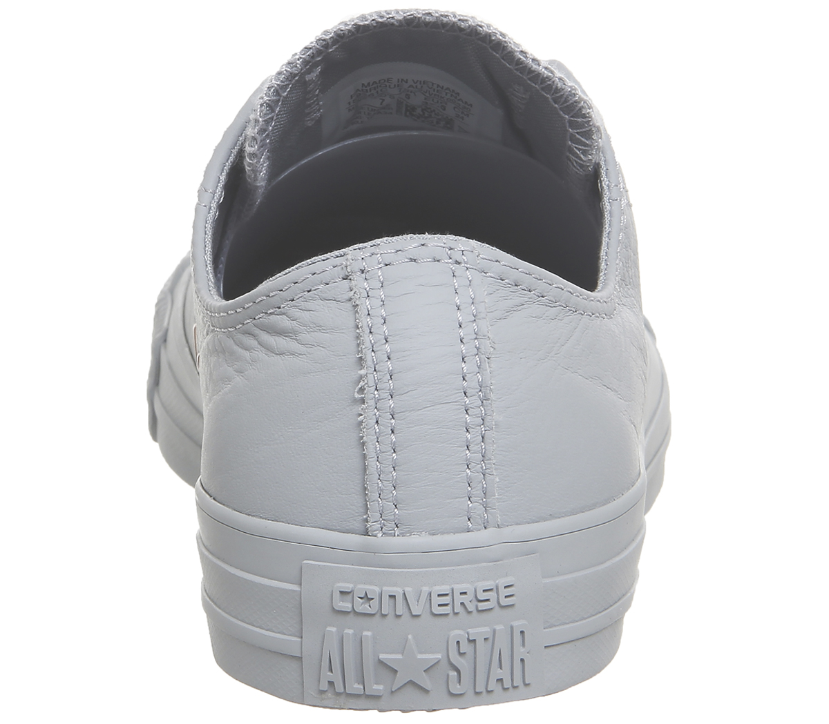 Womens Converse All Star Low Leather WOLF GREY BLUSH GOLD EXCLUSIVE ... 27ed08d4a
