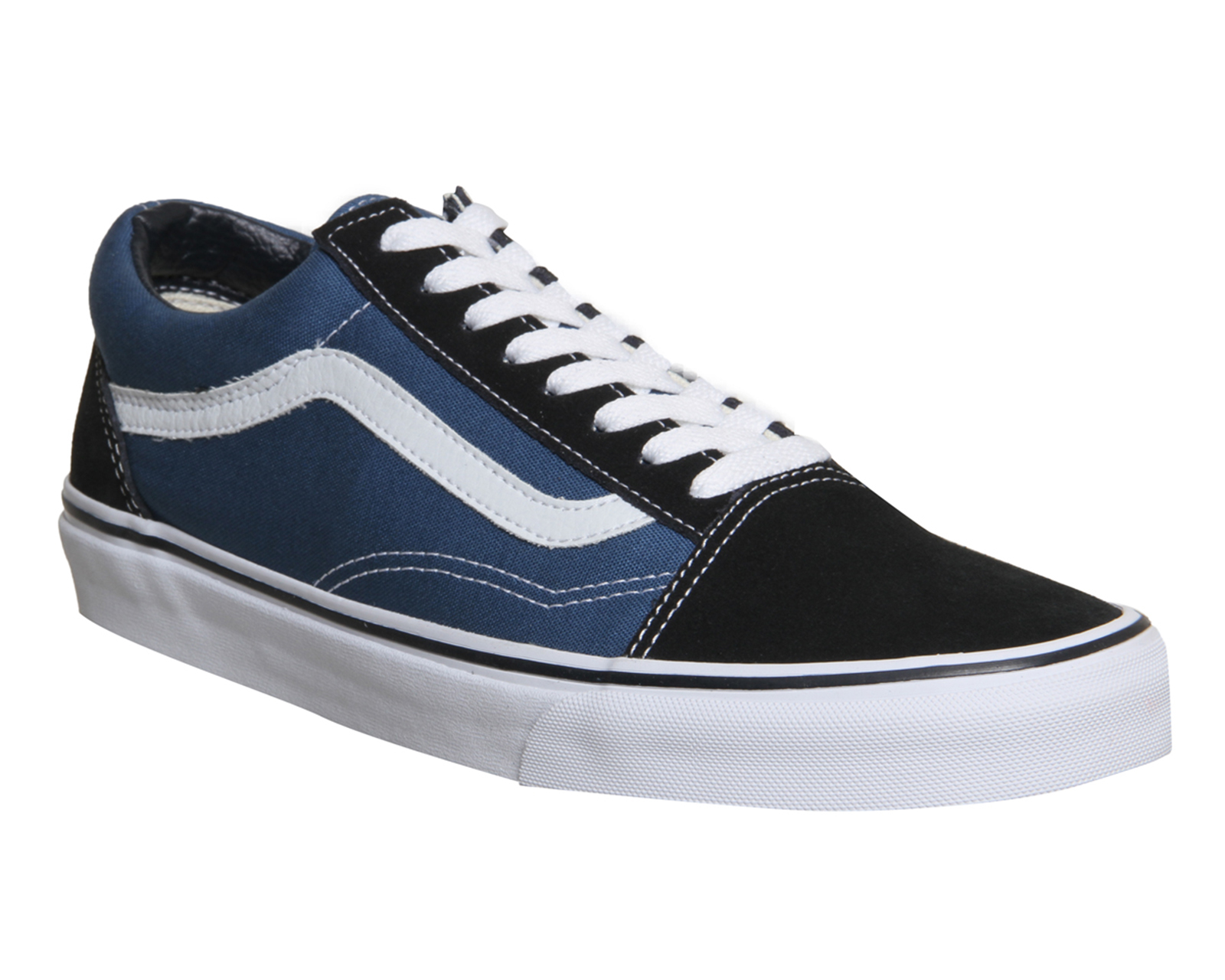 84007bf599fe Sentinel Mens Vans Old Skool Navy Trainers Shoes