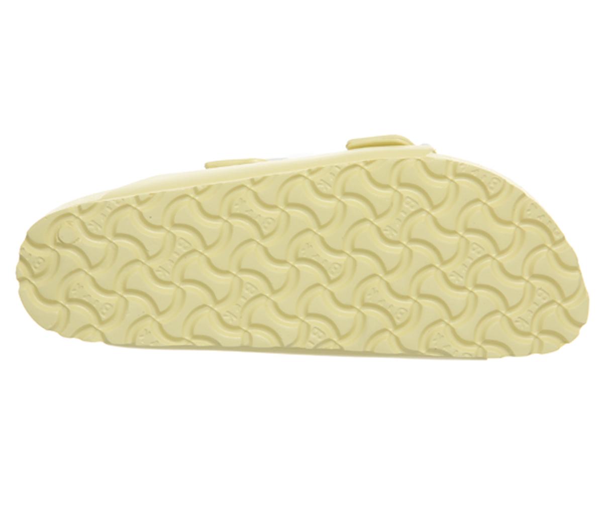 SENTINEL Womens Birkenstock Arizona due sandali con cinturino morbido  giallo Sandali EVA 33d40145780